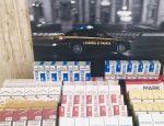 Finanza, sequestrati oltre 200 pacchetti di sigarette