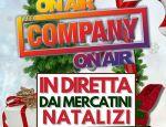 Mercatino di Natale, Company in diretta nazionale il 23 dicembre