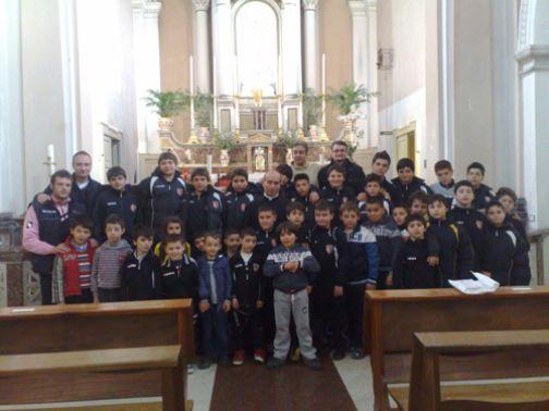 Celebrato il Precetto Pasquale dell'Atletico Foglianise