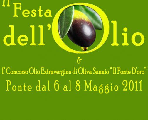 Festa dell'Olio, il 6-7-8 maggio a Ponte