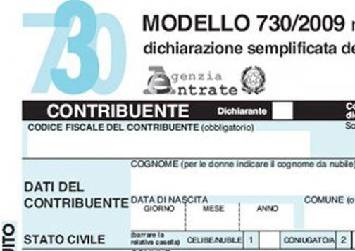 Disponibili presso l'Urp i modelli 730/2009 per la dichiarazione dei redditi