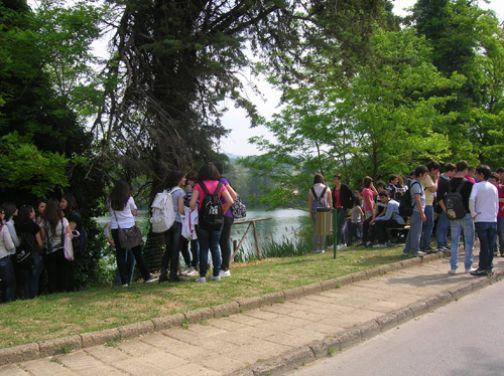 Telese, Vivi il lago 2011: giornata ecologica con studenti e volontari