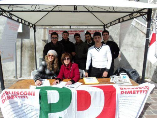 Referendum, gazebo informativo del Pd ad Apollosa