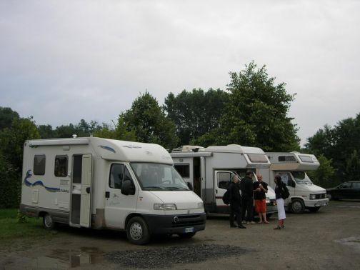 A Ponte il XXVI raduno nazionale de 'l'Itinerante' dei camperisti del club Isernia Camper
