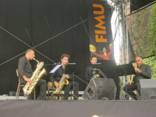 Successo in Francia per il 'Nicola Sala sax Quartet'