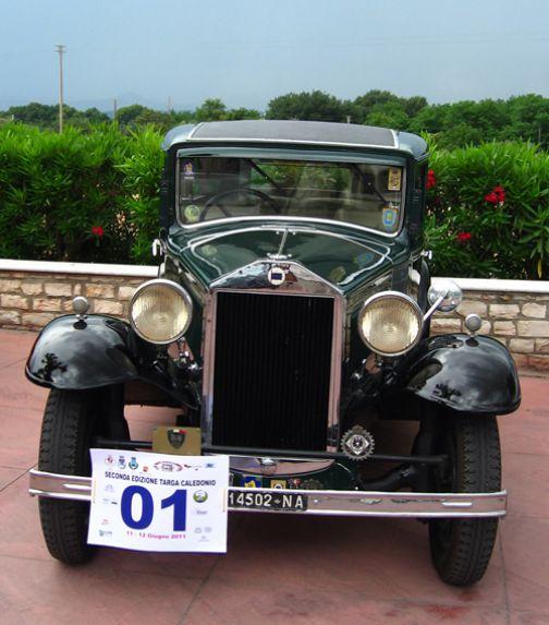 Targa Caledonio 2011, le vetture vincitrici della seconda edizione