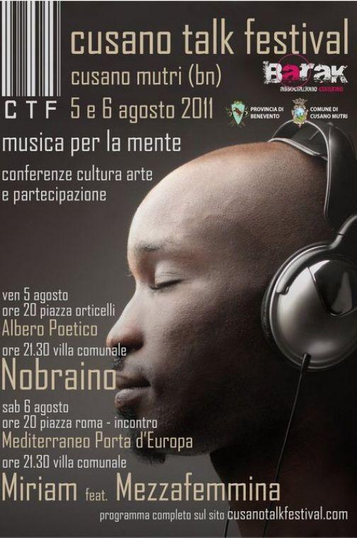 Cusano talk festival, il 5 e 6 agosto la III edizione