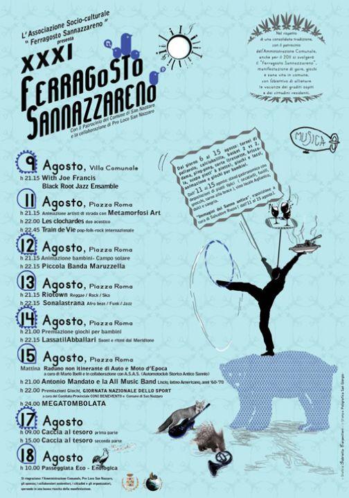 Ferragosto Sannazzareno, dal 9 al 18 agosto la XXXI edizione