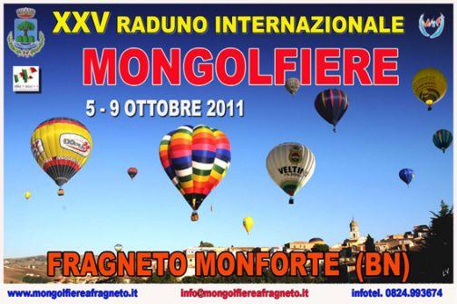 Fragneto Monforte, Raduno Internazionale delle Mongolfiere: le prime anticipazioni