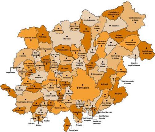 Consiglio Provinciale, i collegi uninominali