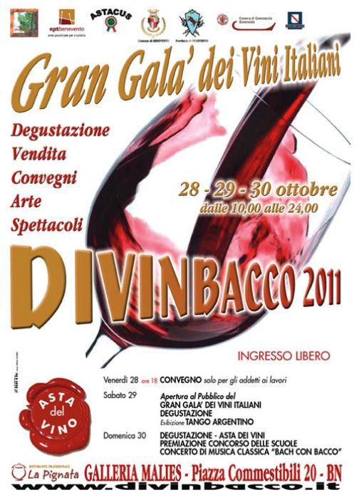 Gran Galà dei Vini, presentazione alla Galleria Malies