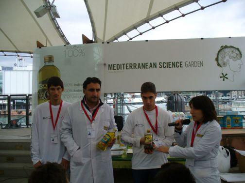 Gli  Oleifici Mataluni al Festival della Scienza di Genova