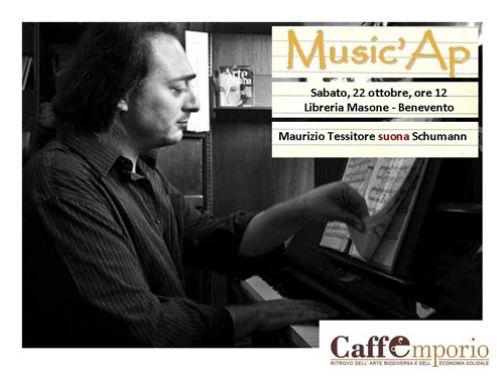 Music'Ap, il concerto per piano solo di Maurizio Tessitore
