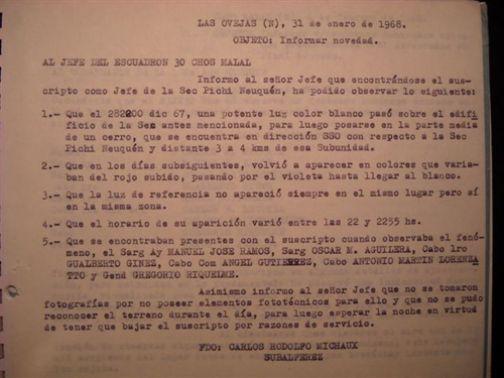 Centro Ufologico Benevento, in Argentina documenti sugli avvistamenti