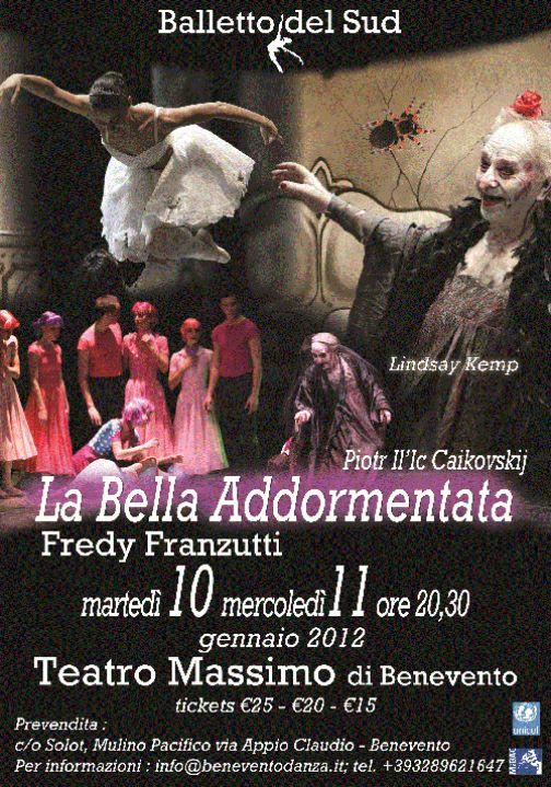 Benevento Danza, al Massimo si replica con 'La Bella addormentata'