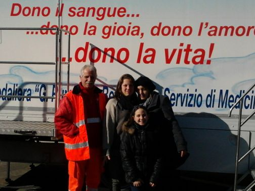 A San Leucio del Sannio nasce il primo gruppo donatori di sangue