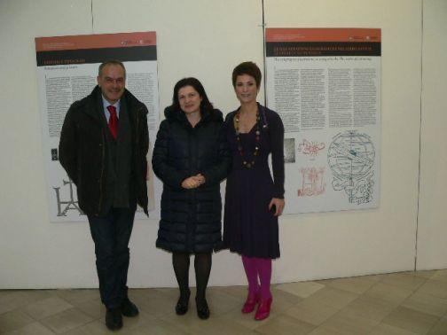 Biblioteca Provinciale, inaugurata la mostra 'Tra miniatura e matrice xilografica'