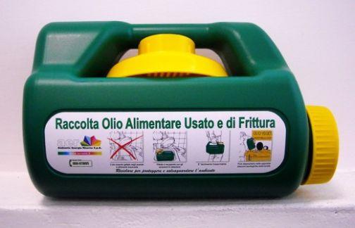 Sant'Agata, a febbraio parte la raccolta  di oli domestici esausti
