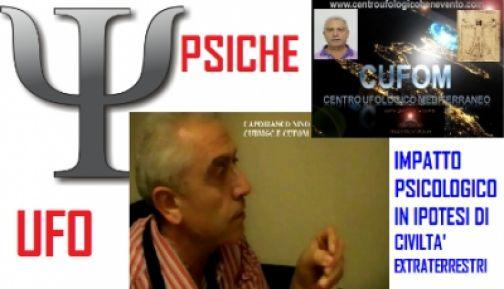 Centro Ufologico, impatto psicologico in ipotesi di vita aliena