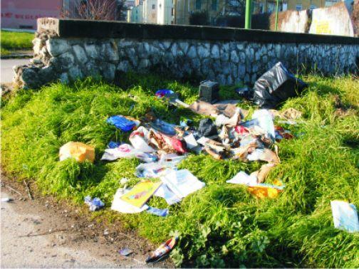 IL Comitato di Via Garrucci denuncia lo stato di abbandono del quartiere