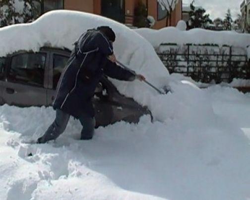 Emergenza neve, massima allerta per le forze di polizia