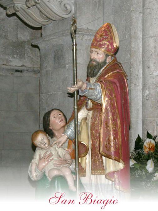 Bagnara, celebrazione della Festività di San Biagio