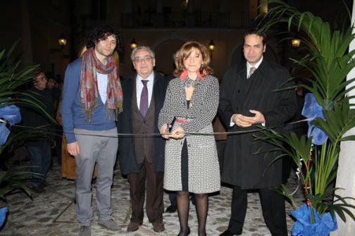 Alla Rocca inaugurata la mostra 'Acquaria' del pittore Marco Romano