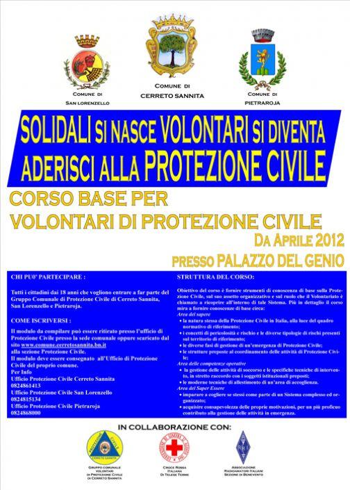 Cerreto, gruppo volontari Protezione Civile: al via la campagna di adesione