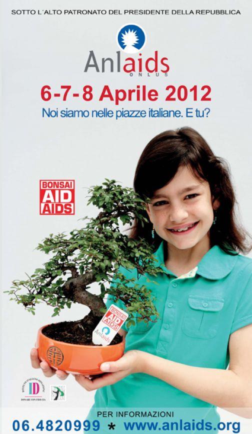 XXa Edizione di Bonsai Aid Aids, il 6,7 e 8 aprile in 3000 piazze