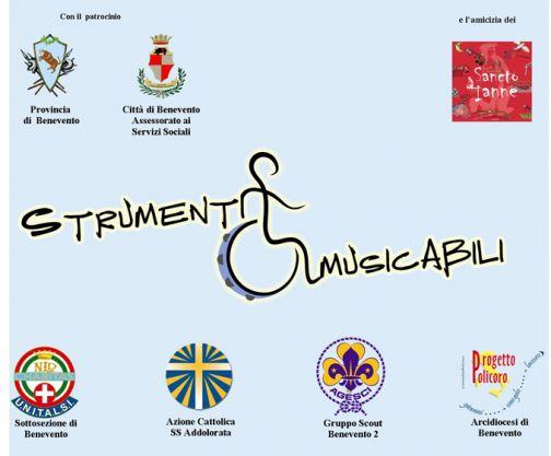 'Strumenti MusicAbili', laboratorio di musica popolare per disabili