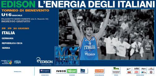 Benevento capitale del basket internazionale giovanile.