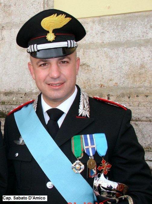 Benevento: cambio al vertice della Compagnia Carabinieri
