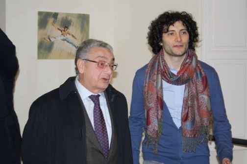 Il pittore sannita Marco Romano premiato al Giffoni Film Festival