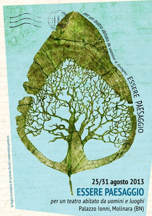 Molinara, 'Essere Paesaggio': dal 25 al 31 agosto laboratorio teatrale