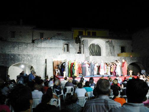 Pago Veiano, va in scena il dramma sacro 'Il martirio del vescovo Donato'