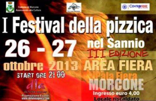 Primo Festival della Pizzica nel Sannio, il 26 e 27 ottobre a Morcone