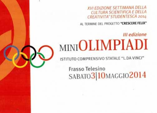 A Frasso Telesino le Miniolimpiadi: al via la terza edizione
