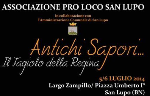 San Lupo, un week-end di gusto con il 'Fagiolo della Regina'