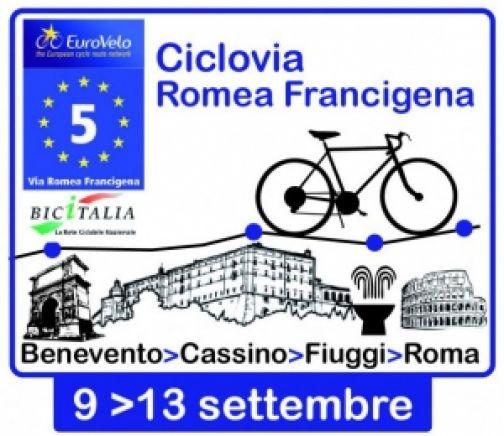 'Bicistaffetta', un percorso su due ruote da Benevento a Roma