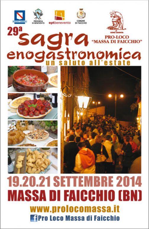 Massa di Faicchio, 29a Sagra Enogastronomica: 19-21 settembre