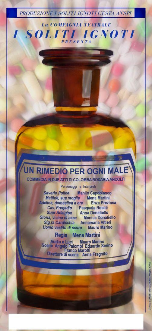 'Soliti Ignoti', al Massimo va in scena la commedia  'Un rimedio per ogni male'