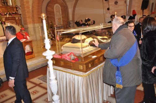 San Pio nel Sannio, Ricci: 'Commosso da tanta devozione'