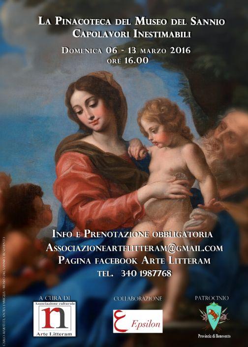 La Pinacoteca del Museo del Sannio, visite guidate il 6 e 13 marzo