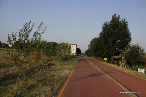 Pista Ciclopedonale 'Paesaggio Sanniti': chiusura dal 7 al 23 marzo
