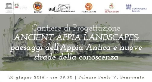 Ancient Appia Landscapes, workshop a Palazzo Paolo V