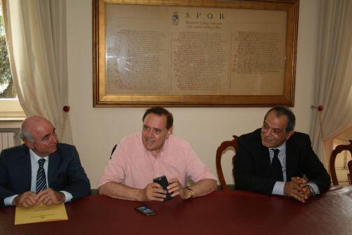 Alluvione, il sindaco Mastella ha incontrato il commissario Grimaldi
