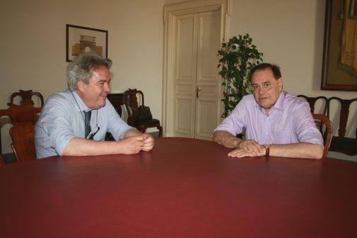 Mastella ha incontrato Cristino e Conzo in tribunale e Felicori a Palazzo Mosti