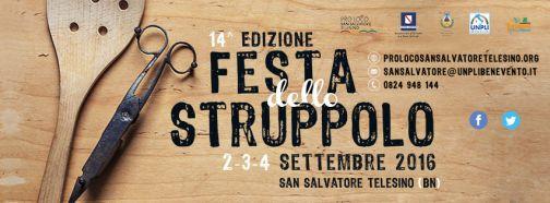 San Salvatore, Festa dello Struppolo: XIV edizione