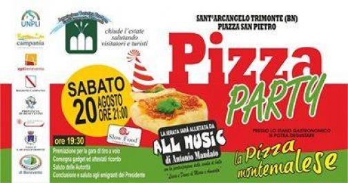 Sant'Arcangelo Trimonte, sagra della pizza montemalese