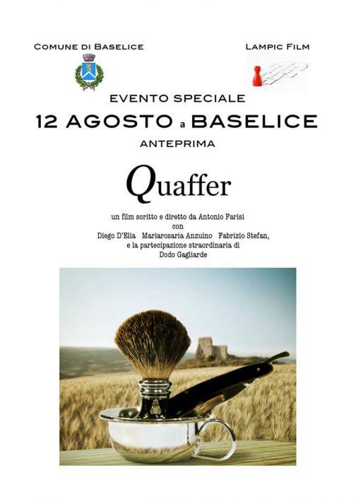 Baselice, Festa dell'emigrante con proiezione film Quaffer